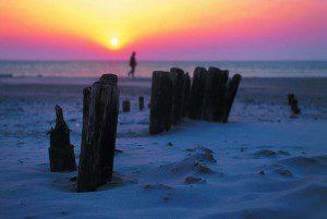 Winterspaziergang bei Sonnenaufgang