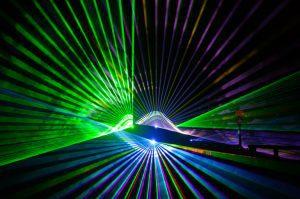 Lasershow »Frühlings-Lichterzauber Föhr« (© Föhr Tourismus GmbH/Christian von Stülpnagel)