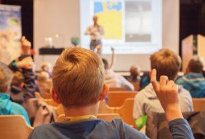 Vorlesung Prof. Dr. Mojib Latif (© Föhr Tourismus GmbH/Ann-Kathrin Meyerhof)
