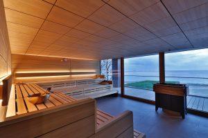 Saunieren mit Meeresblick © Upstalsboom/Paul Schimweg